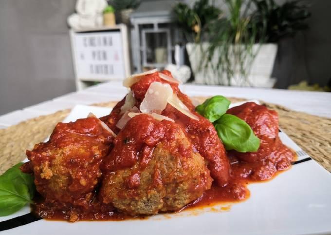Polpette al Sugo, boulettes sauce tomate