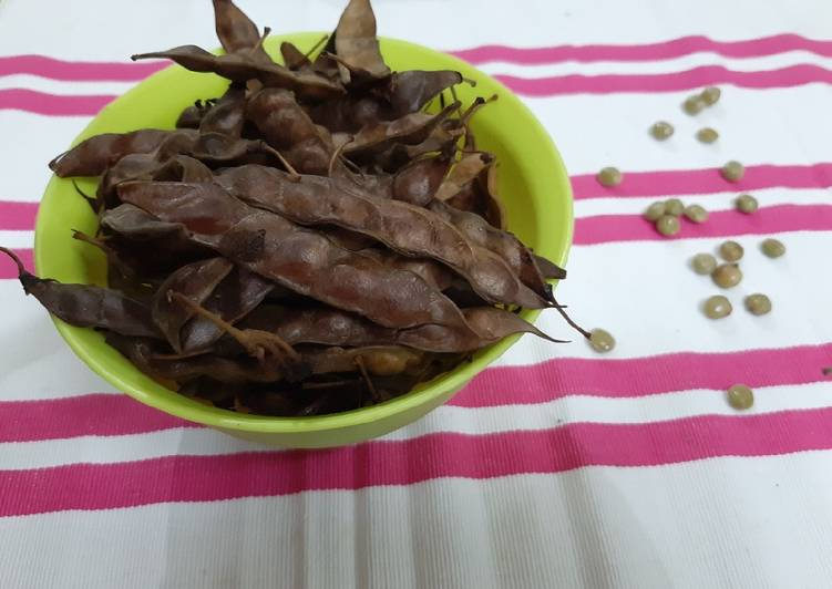 Recipe: Perfect Boiled Pigeonpea seedpods (Turichya Shenga)