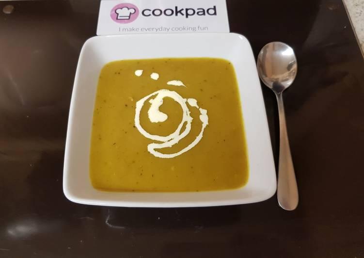 My Creamy Leek & Veg Onion, Soup