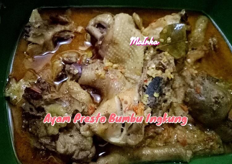 Ayam Presto Bumbu Ingkung