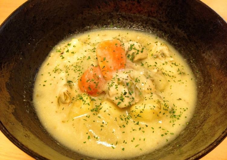 Quick and Easy Recipe: Yummy Cream Stew