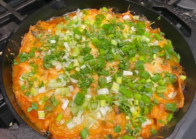 My one Skillet Enchilada