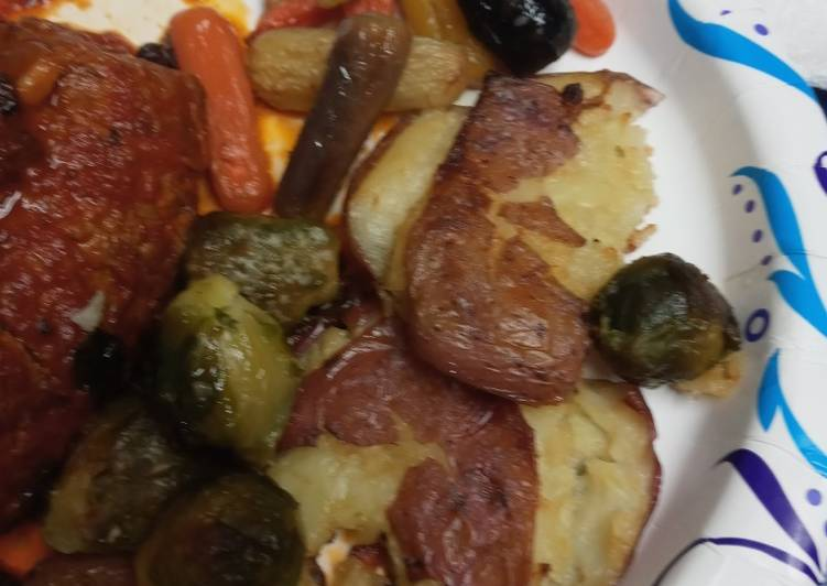 Recipe: Appetizing Roasted Vegetables for Beef Braciole
