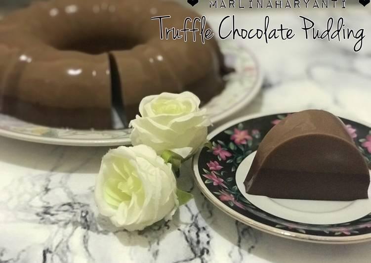 Resep Truffle Chocolate Pudding Anti Gagal