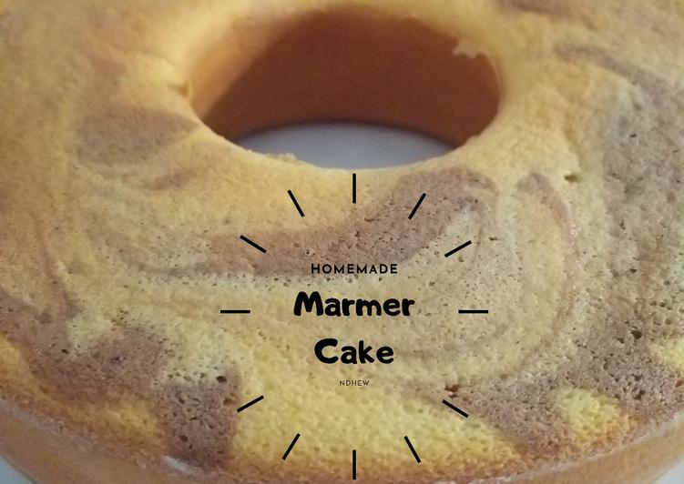Bolu Marmer (Putih Telur)