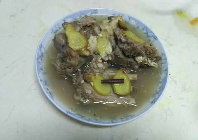 Sup Tulang (Kambing) Rempah