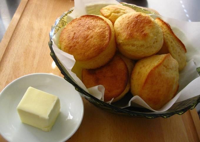 Recipe: Yummy Buttermilk Corn Muffins