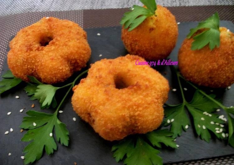 Croquettes de Pommes de terre farcies