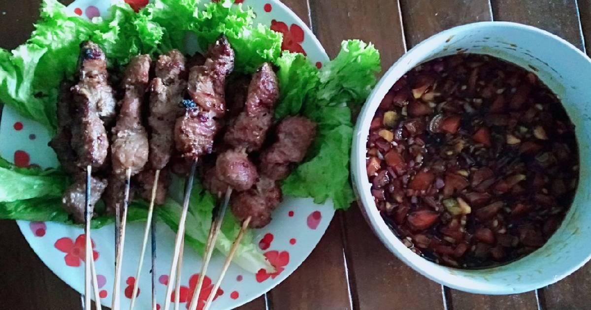 resep daging bumbu kecap enak  sederhana ala rumahan cookpad Resepi Sate Ayam Yang Sedap Enak dan Mudah