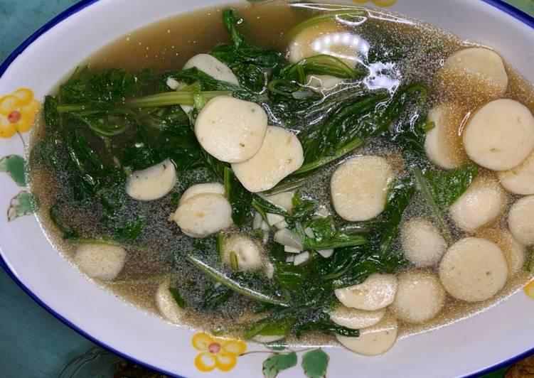 Sawi Kuah Bakso Ikan