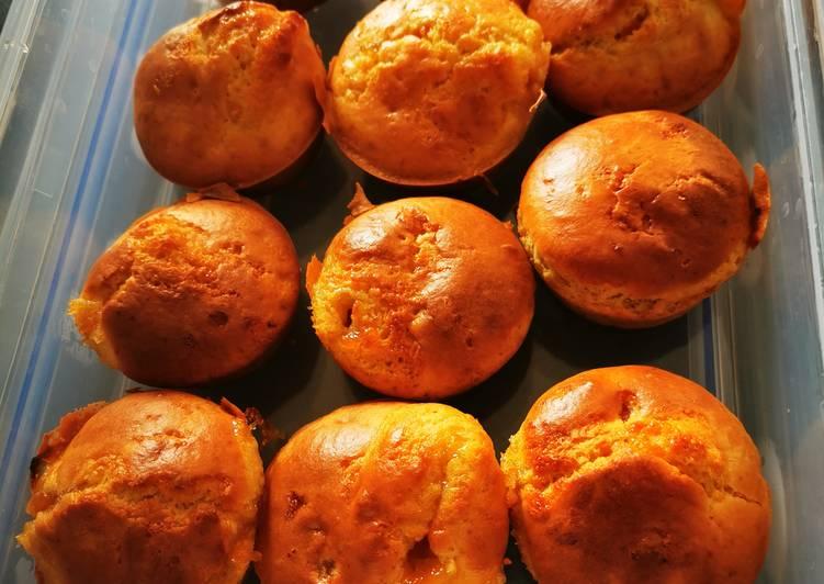 Petit gâteau à la confiture d'abricot allégée