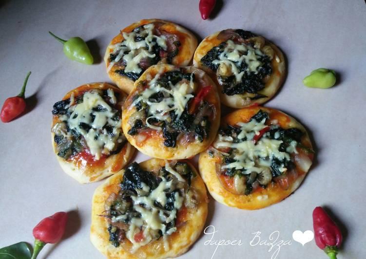 Pizza Mini Bayam
