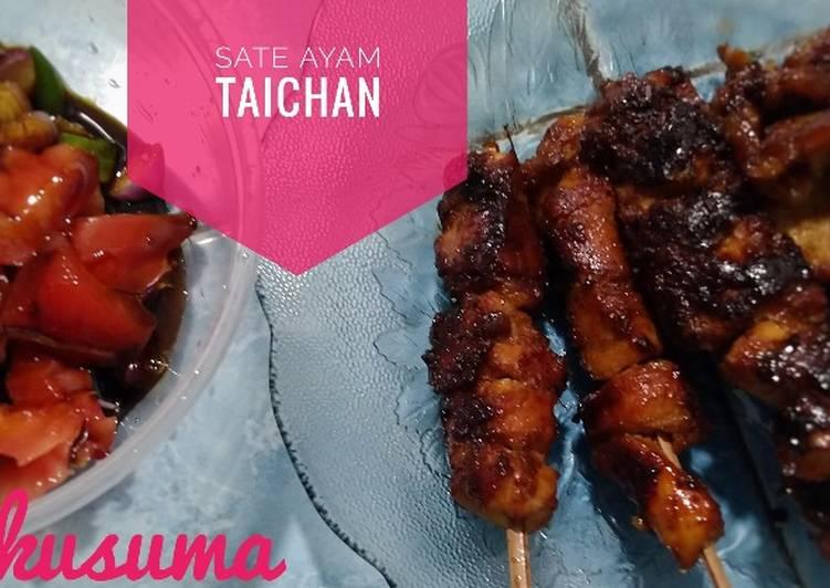 Resep Sate ayam taichan simple&lezat yang Enak