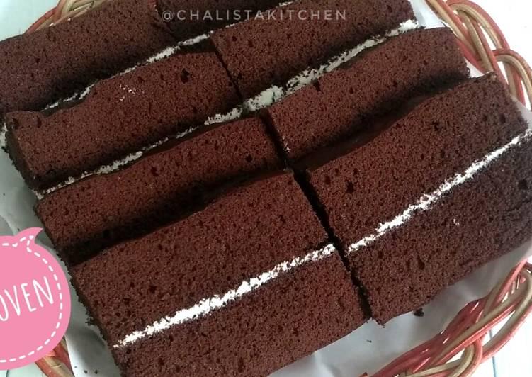 Resep Bolu Kukus Coklat Lembut Banget Oleh Chalistaa Kitchen Cookpad