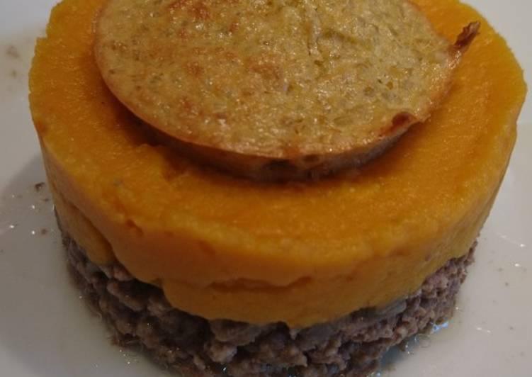 Hachée de viande au quinoa patate douce