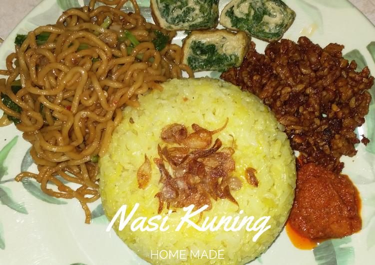Nasi Kuning Magic Com - cookandrecipe.com