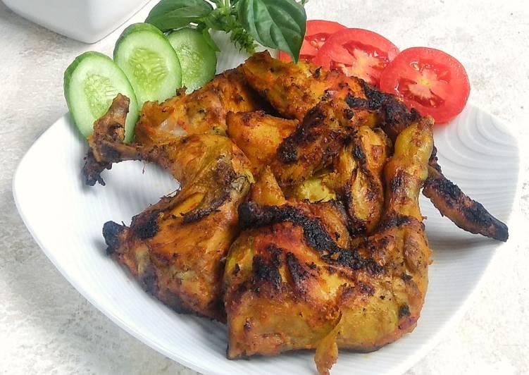 Resep Ayam bakar tuturaga , Menggugah Selera