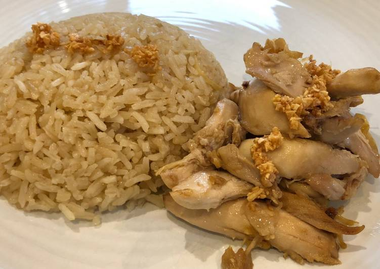 Nasi hainam Rice Cooker (Versi 3)