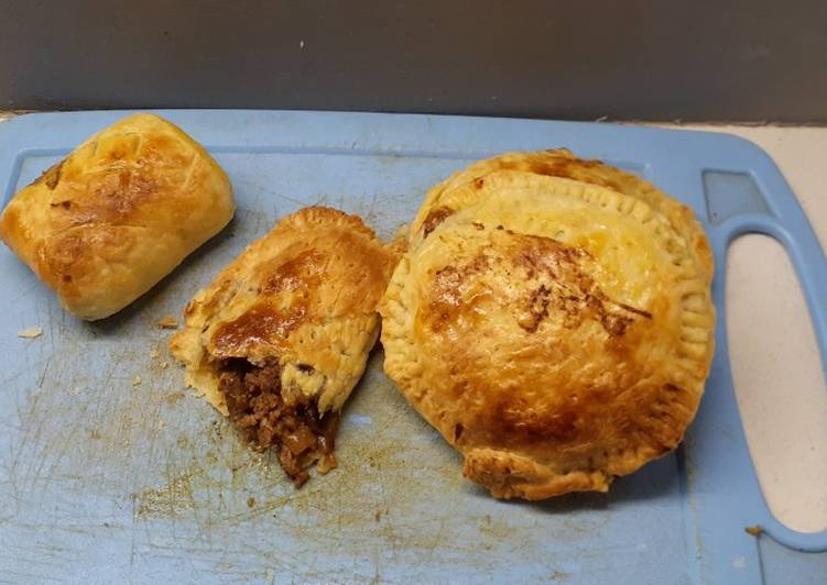 30 Minute Recipe of Ultimate Ox liver and boerewors pie