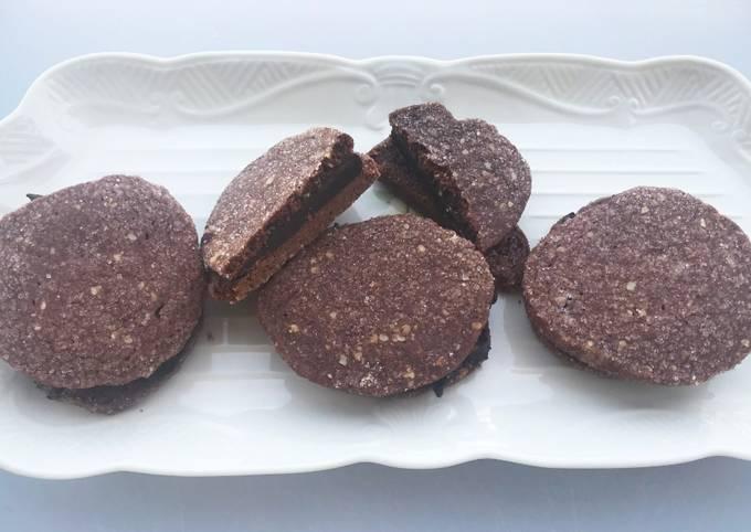 Chocolate Ganache Wafers