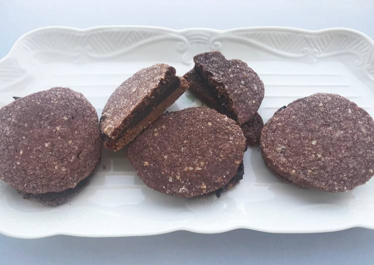 Chocolate Ganache Wafers