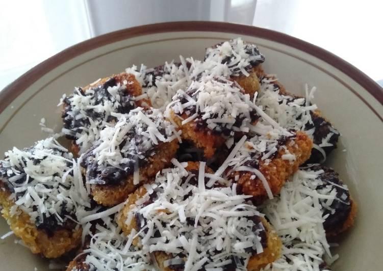 Resep Pisang Nugget Coklat Keju oleh Istna Ayun - Cookpad