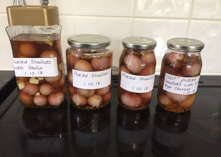 Easiest Way to Make Ultimate Pickled shallots