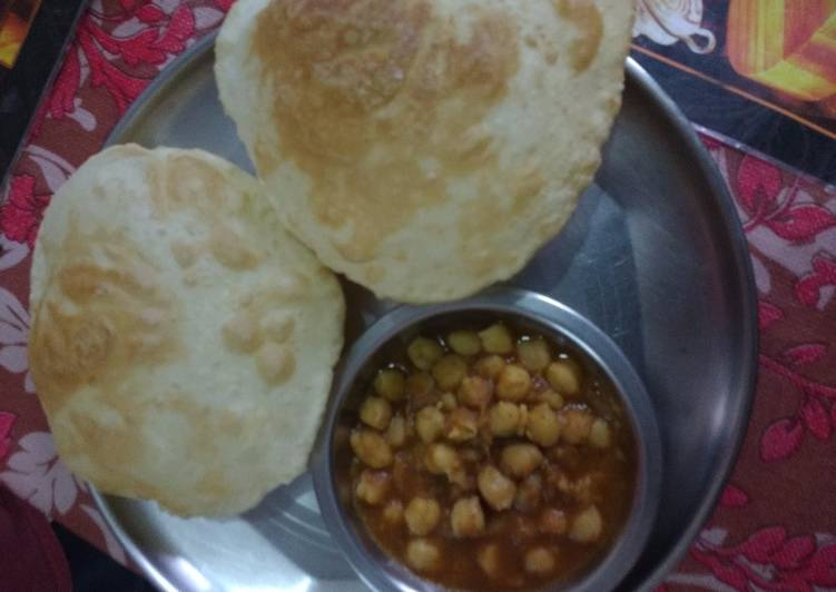 How to Cook Perfect Chole bhature