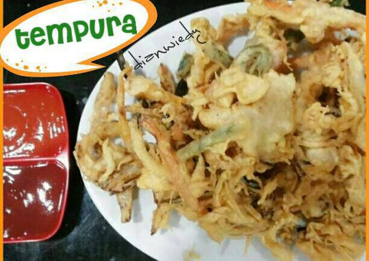 Tempura sayur crispy…♥♥♥