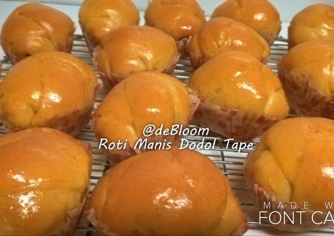 Resep 147 Roti Manis Dodol Tape Oleh Je Debloom Cookpad