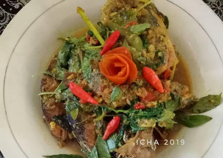 Ikan terkulu masak woku