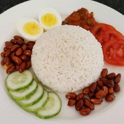 Coconut Rice Nasi Lemak Nasi Uduk Recipe By Tizz Cookpad