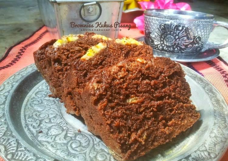 Brownies Kukus Pisang #Pr_BrowniesDcc