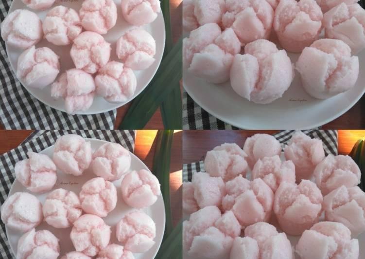 Kue Mangkok Apem Tapai Nasi Mekar Lembut, Ringan dan Mudah
