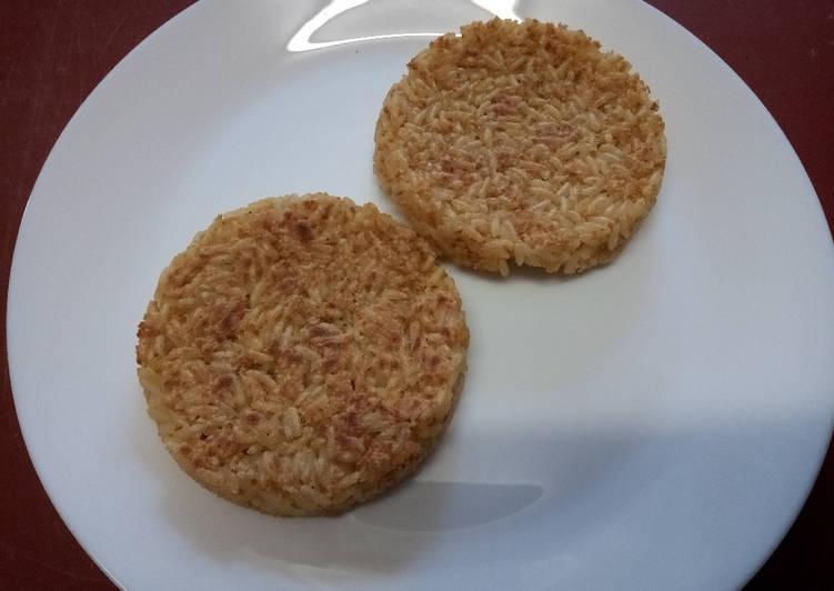 Recette Des Galettes de riz