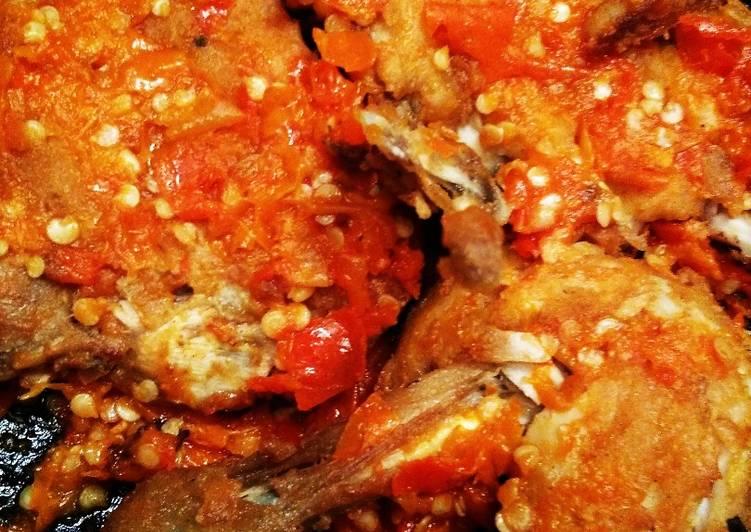 Resep Ayam Geprek Sambel Judes Juara Pedes Oleh Nungki Ratna