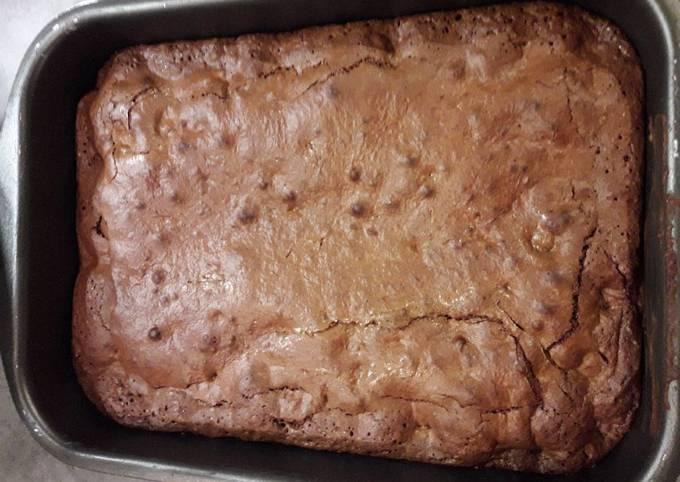 Brownie noisette