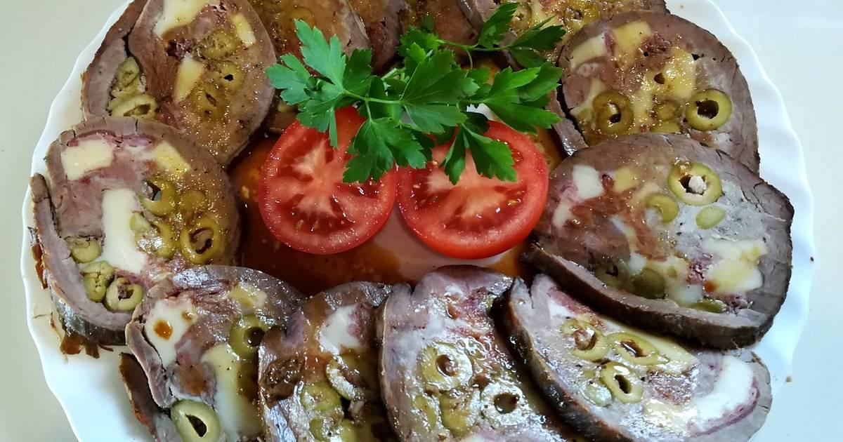 salsa para aleta rellena de ternera