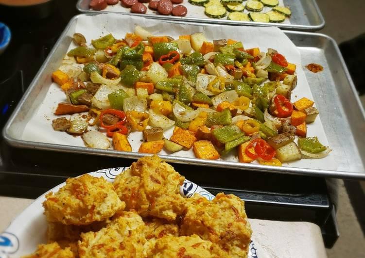 Pan-baked Veggies