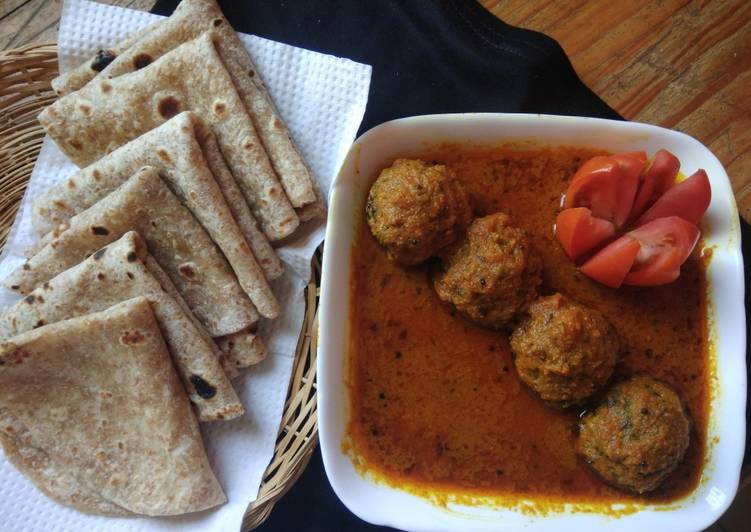 Palak chana dal kofta curry Choosing Fast Food That's Good For You