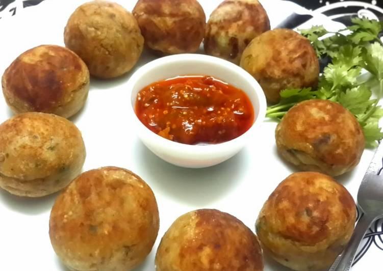 Recipe of Super Quick Homemade Coconut Stuffed Potato Kachori