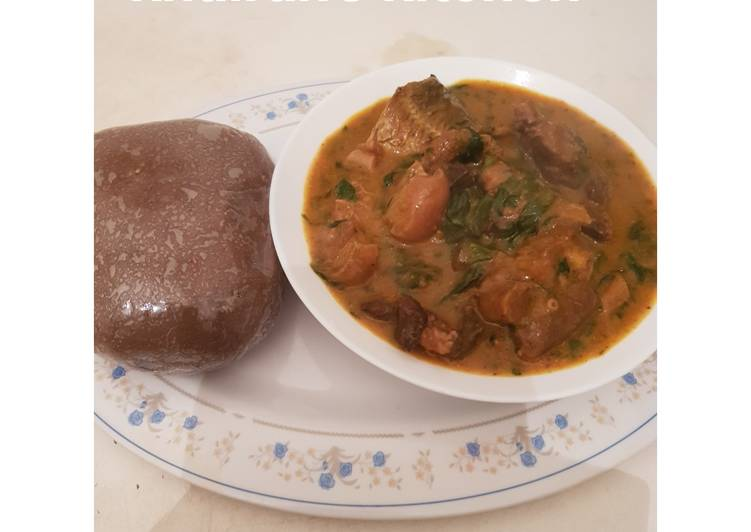 Step-by-Step Guide to Make Speedy Ogbono soup and Amala