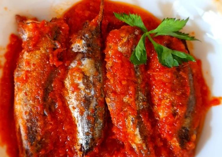 Ikan dencis sarden home made