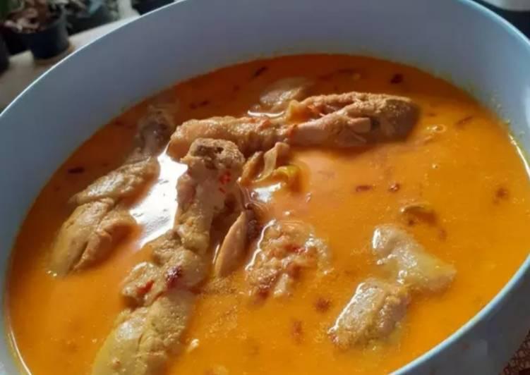 Resep Kari ayam (resep nenek moyang) Anti Gagal