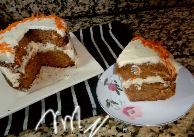 Recipe of Homemade Carrot cake
