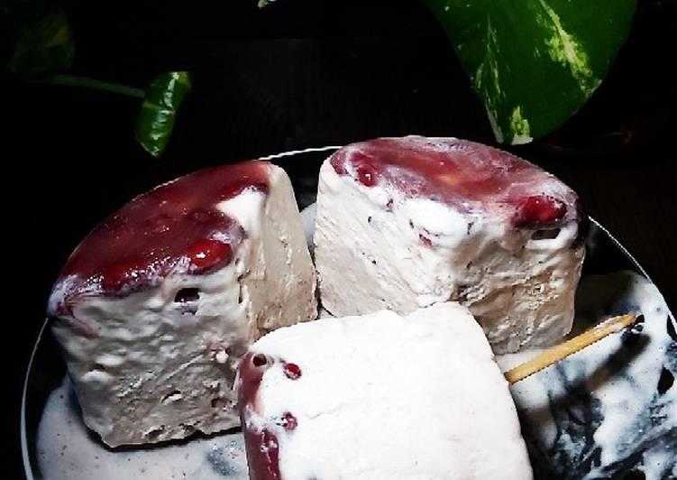 💢 Ice Cream Pisang Kacang Merah 💢