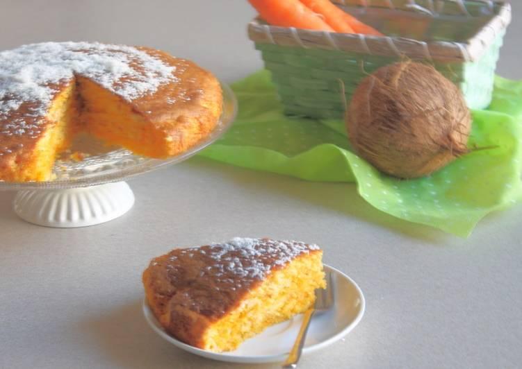 Ricetta Torta con carote e cocco