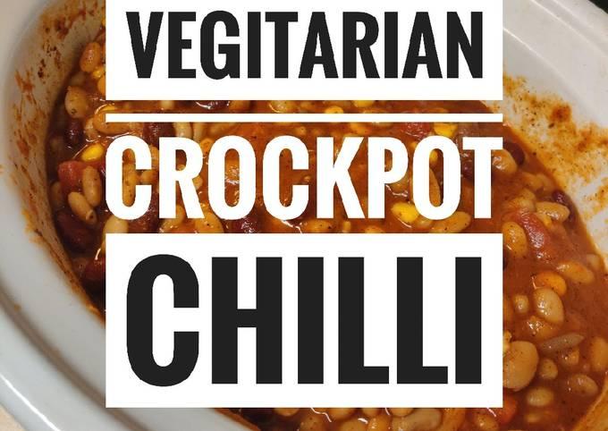 Crock-Pot Vegetarian Chili 🌶️🍲
