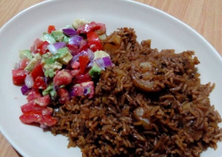 15 Minute Recipe of Refreshing Pilau rice with cll