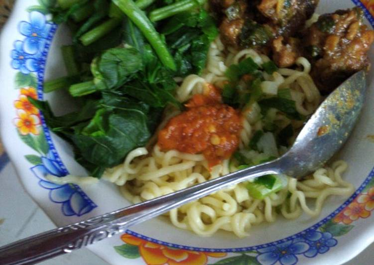 Mie ayam solo home made